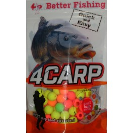 Fluoro pop up Crab boilies 12mm